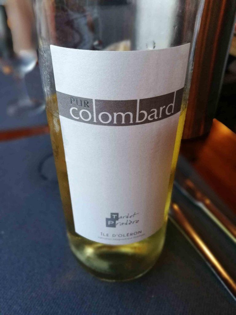 Vin blanc Colombard Oleron