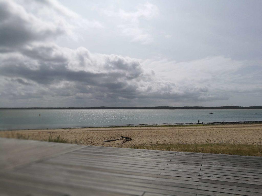 Vue plage Gatseau terrasse Novotel