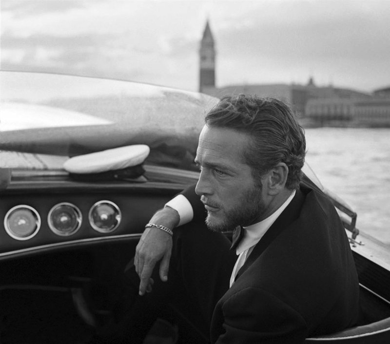 Paul Newman barbe Les Boomeurs