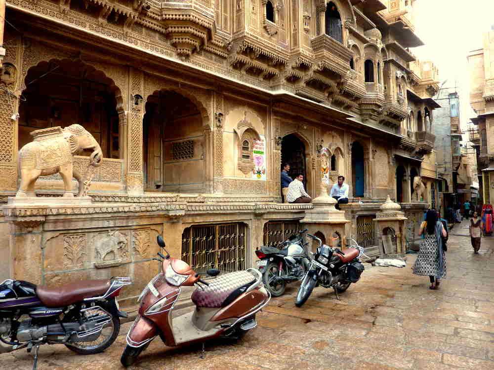 Temple Jaisalmer Rajhastan Inde Les Boomeurs