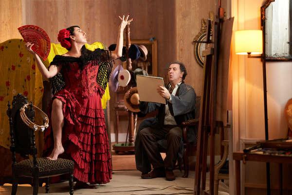 """Photo du film """"A cause des filles"""" figurant Rossy de Palma et François Morel Les Boomeurs"""