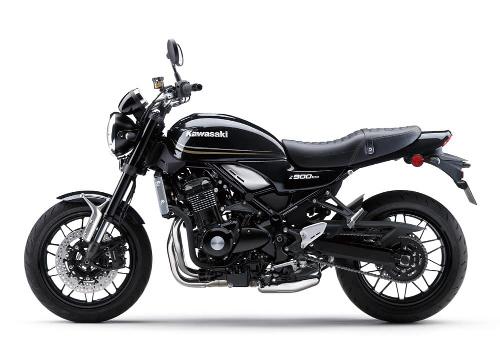 Photo représentant une moto Kawazaki publié dans le magazine Les Boomeurs