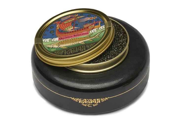pot de caviar pour la fête des pères