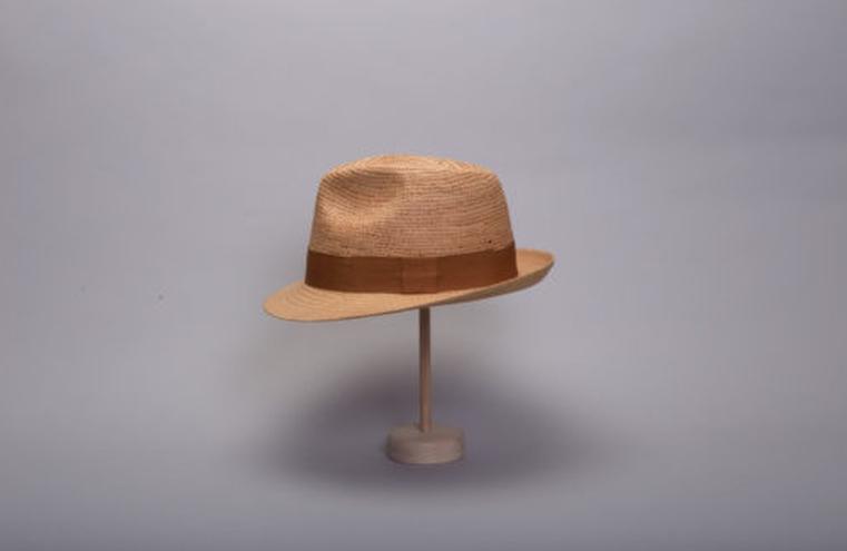 chapeau en paille pour fête des pères