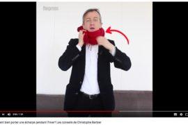 Christophe Barbier Echarpe Les Boomeurs