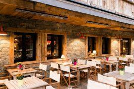 Terrase hotel la Marmotte Gets Boomeurs