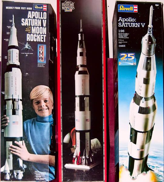 Revell Apollo Les Boomeurs