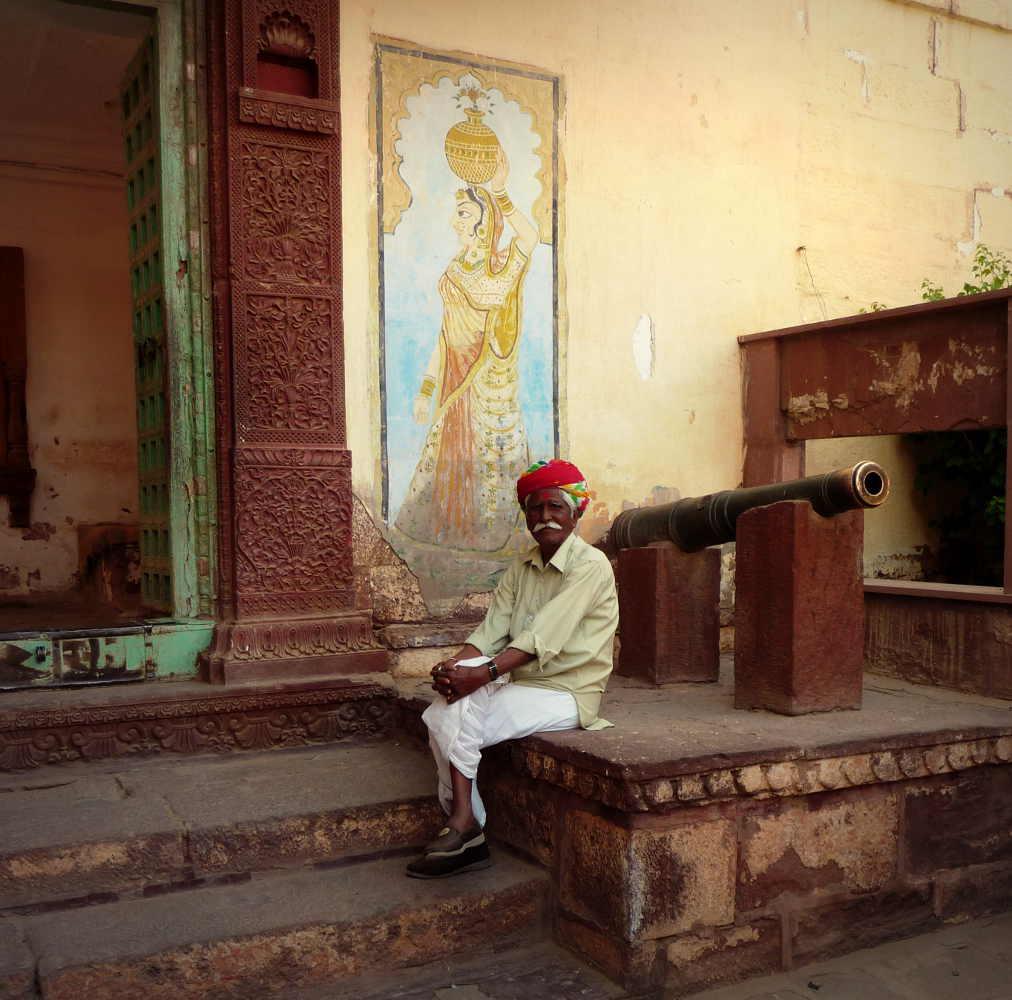 Indien temple Jailsamer Rajhastan Inde Les Boomeurs