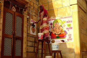 Indienne Jaisalmer Inde Les Boomeurs