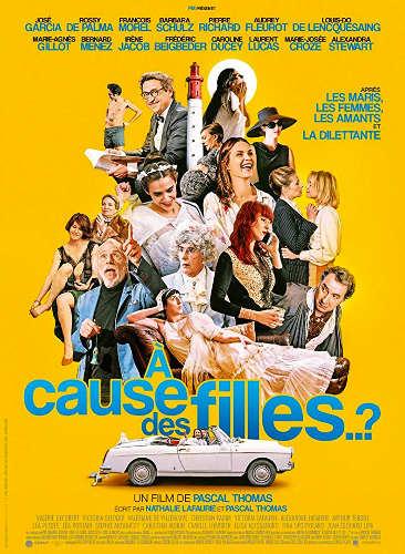 """Affiche du film """"À cause des filles"""" de Pascal Thomas Les Boomeurs"""