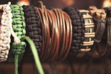 bracelets en cuir