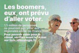Campagne EELV Boomeurs