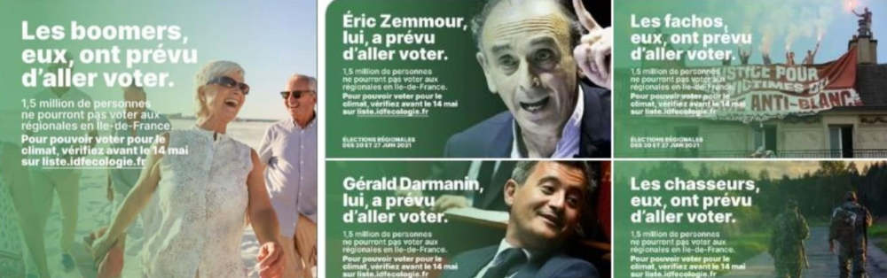 Campagne EELV Boomeurs